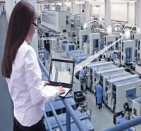 Automação industrial painel de controle