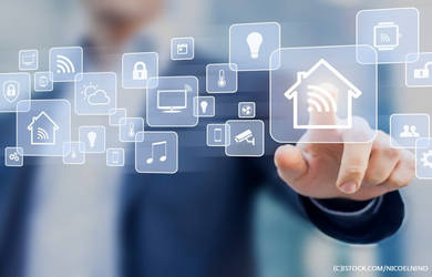 Automação residencial com iphone
